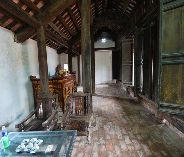 Kiến trúc bên trong ngôi nhà Bá Kiến