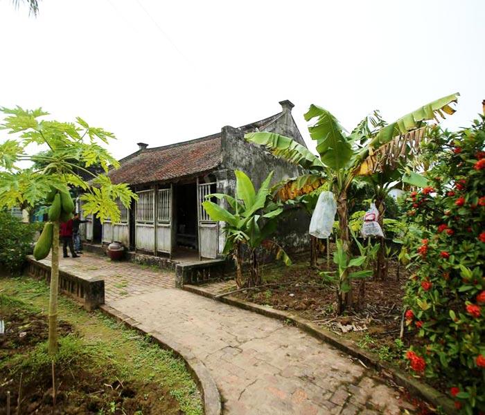 Ngôi nhà Bá Kiến vẫn mang những nét cổ kính, xưa cũ độc đáo