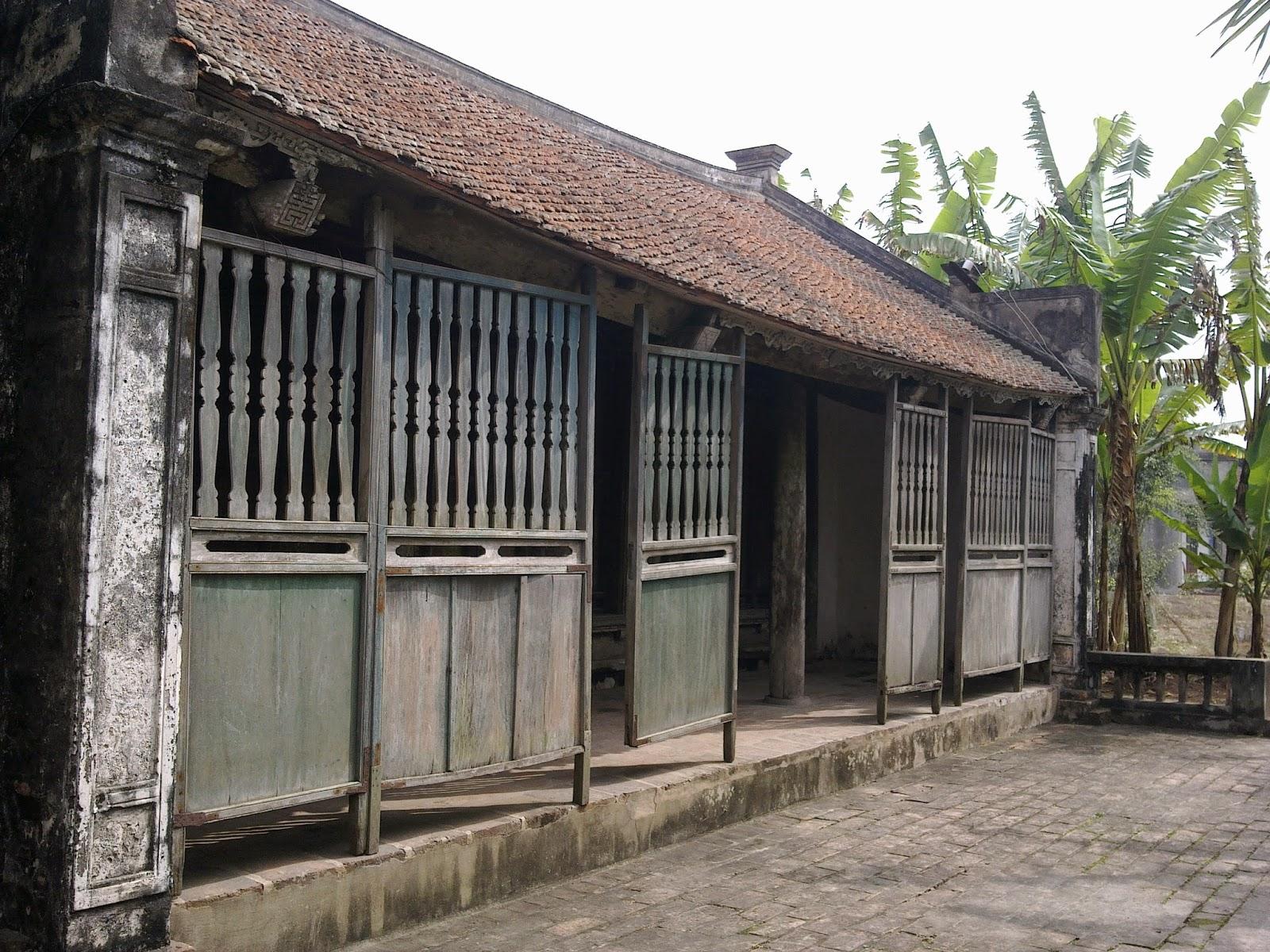 Ngôi nhà cổ của cụ Bá Kiến xưa được bảo tổn để làm du lịch