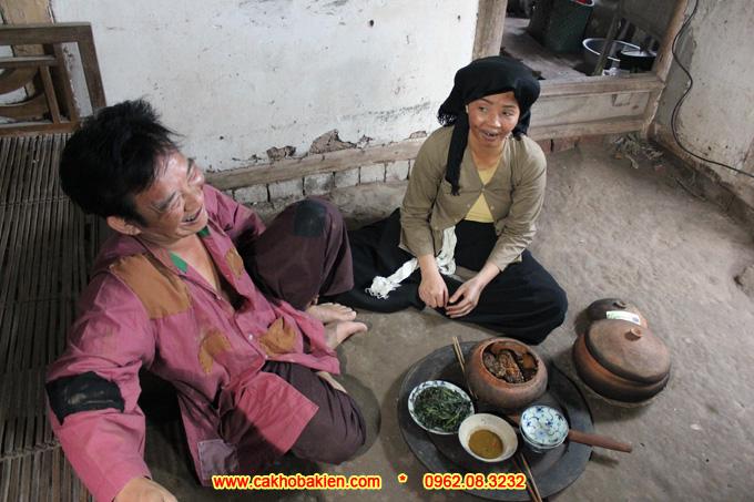 Chí Phèo mê tít món cá kho Bá Kiến và ăn hết 8 bát cơm liền 1 lúc