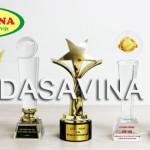 Các danh hiệu giải thưởng cá kho Bá Kiến thương hiệu Dasavina đạt được