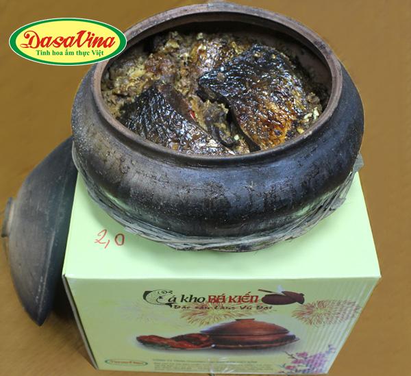 Cá kho Bá Kiến ngon chất lượng của thương hiệu Dasavina