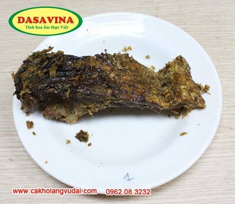 Cá kho từ cá trắm đen