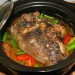 Cá rô phi kho hạt dẻ