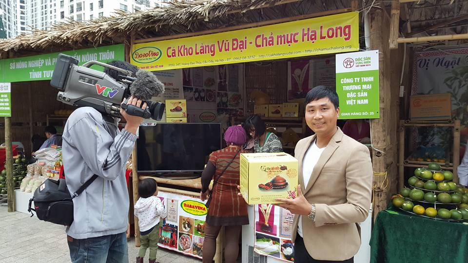 VTV phỏng vấn món ăn đặc sản của công ty DASAVINA