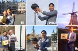 Hành trình mang cá kho Bá Kiến đi khắp thế giới của anh Nguyễn Bá Toàn