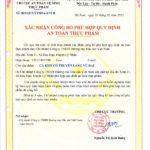 Cá kho làng Vũ Đại là sản phẩm đã được chứng nhận vệ sinh an toàn thực phẩm