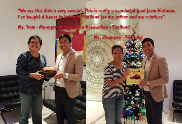 Rất nhanh chóng, bằng chính sự thơm ngon của mình, món ăn cá kho Bá Kiến đã chinh phục được người ẩm thực tại Thái Lan