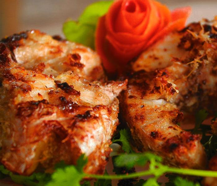 Cá trắm nướng đậm vị đưa cơm