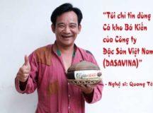 Nghệ sĩ Quang Tèo vô cùng yêu thích món ăn cá kho Bá Kiến