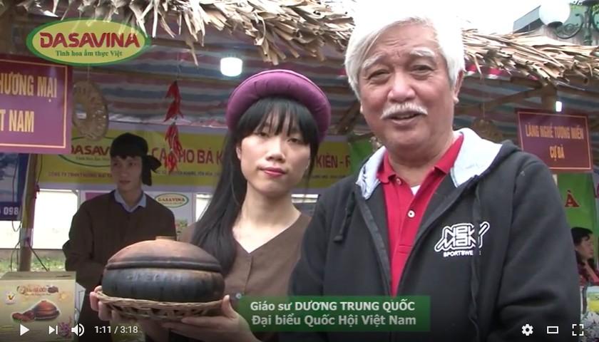Giáo sư DƯƠNG TRUNG QUỐC yêu thích món Cá kho Bá Kiến