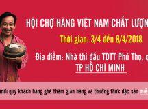 Cá kho Bá Kiến tham gia hội chợ Hàng Việt Nam -CLC