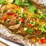 Cá cam nướng giấy bạc – Công thức chế biến món cá tại nhà ngon chuẩn vị